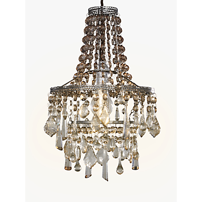 John Lewis Christina Easy-to-Fit Small Crystal Ceiling Light