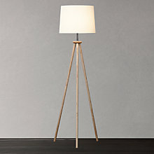 Buy John Lewis Glen Tripod Floor Lamp, Ash Online at johnlewis.com