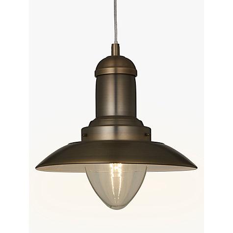 Buy John Lewis Barrington Pendant Ceiling Light Satin