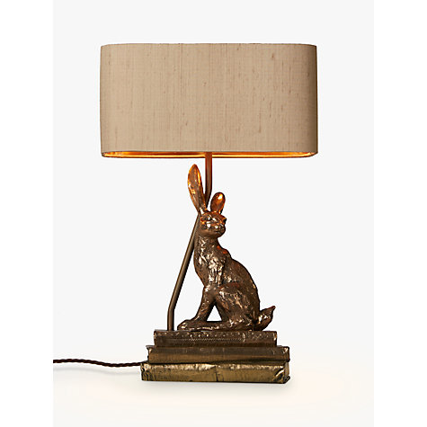 Buy David Hunt Hare Table Lamp Bronze John Lewis