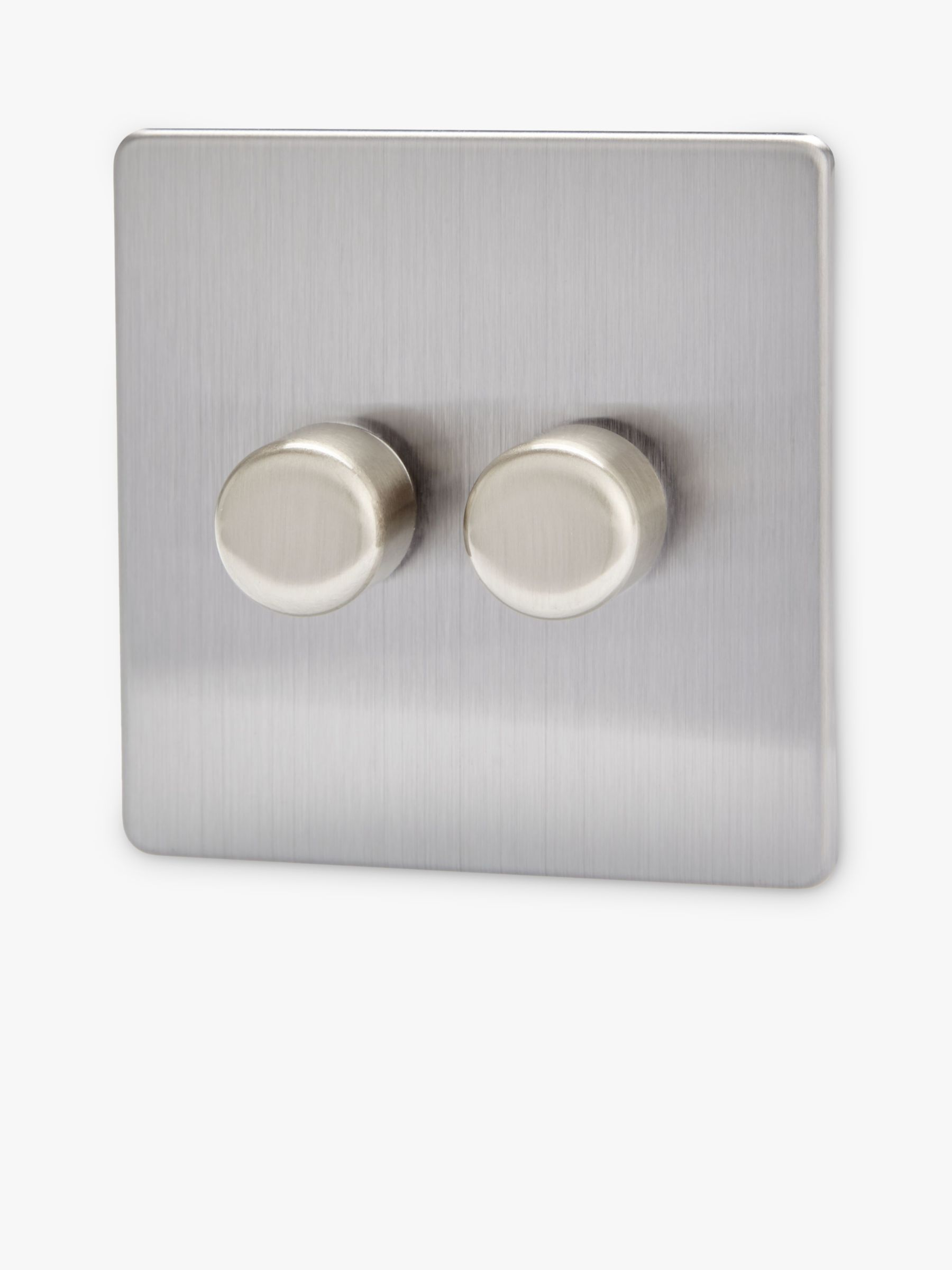 Varilight Varilight 2 Gang V-Pro LED Rotary Dimmer Switch
