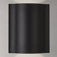 Buy John Lewis Loiri LED Outdoor Wall Light, Black Online at johnlewis.com
