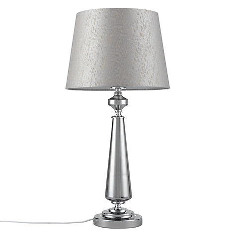 Buy john lewis marissa glass sparkly shade table lamp for Table lamp shades john lewis