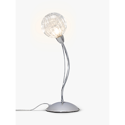 John Lewis Robertson Touch Table Lamp, Chrome