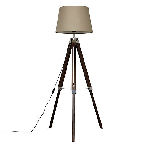 Buy john lewis jacques tripod floor lamp john lewis for John lewis floor lamp reading