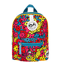 Buy Babymel Zip & Zoe Mini Backpack, Reins and Safety Harness, Floral Brights Online at johnlewis.com