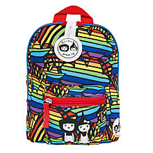 Buy Babymel Zip & Zoe Mini Bag, Reins and Safety Harness, Rainbow Multi Online at johnlewis.com