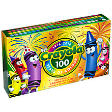 Buy Crayola 100 Years of Colour Anniversary Pack Online at johnlewis.com