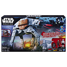 Buy Star Wars Rogue One Rapid Fire Imperial AT-ACT Remote Control Vehicle Online at johnlewis.com