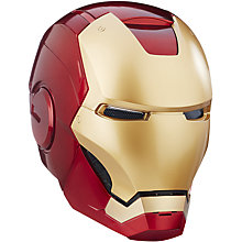Buy Marvel Avengers Legends Iron Man Electronic Helmet Online at johnlewis.com