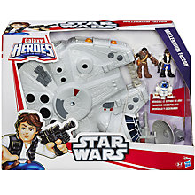 Buy Star Wars Galaxy Heroes Millennium Falcon & Figures Online at johnlewis.com
