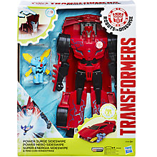 Buy Transformers Robots in Disguise Power Surge Sideswipe and Windstrike Toy Online at johnlewis.com