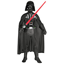 Buy Star Wars Darth Vader Deluxe Children's Costume, 5-6 years Online at johnlewis.com