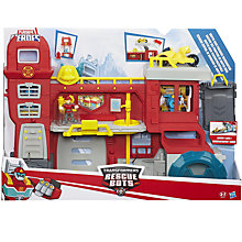 Buy Transformers Playskool Heroes Rescue Bots Rock Firehouse Playset Online at johnlewis.com