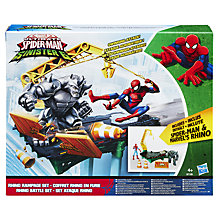 Buy Marvel Spider-Man Rhino Rampage Playset Online at johnlewis.com