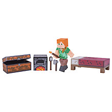 Buy Minecraft Alex Survival Pack Series 3 Action Figure Online at johnlewis.com