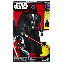 "Buy Star Wars Rebels 12"" Electronic Duel Darth Vader Action Figure Online at johnlewis.com"