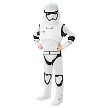 Buy Star Wars Episode VII: The Force Awakens Stormtrooper Dressing-Up Costume, Large Online at johnlewis.com