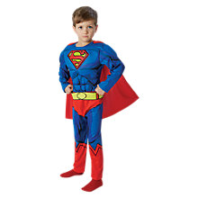 Buy Superman Deluxe Children's Costume Online at johnlewis.com