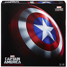 Buy Marvel Avengers Legends Captain America Shield Online at johnlewis.com