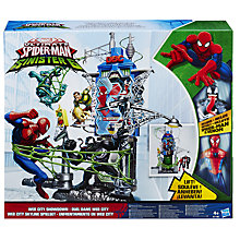 Buy Marvel Ultimate Spider-Man Web City Showdown Playset Online at johnlewis.com