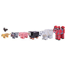 Buy Minecraft Wild Animal Pack Series 3 Action Figures Online at johnlewis.com
