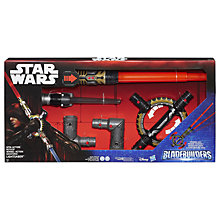 Buy Star Wars Bladebuilders Spin-Action Lightsabre Online at johnlewis.com