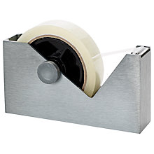 Buy Tom Dixon Alloy Cube Tape Dispenser Online at johnlewis.com