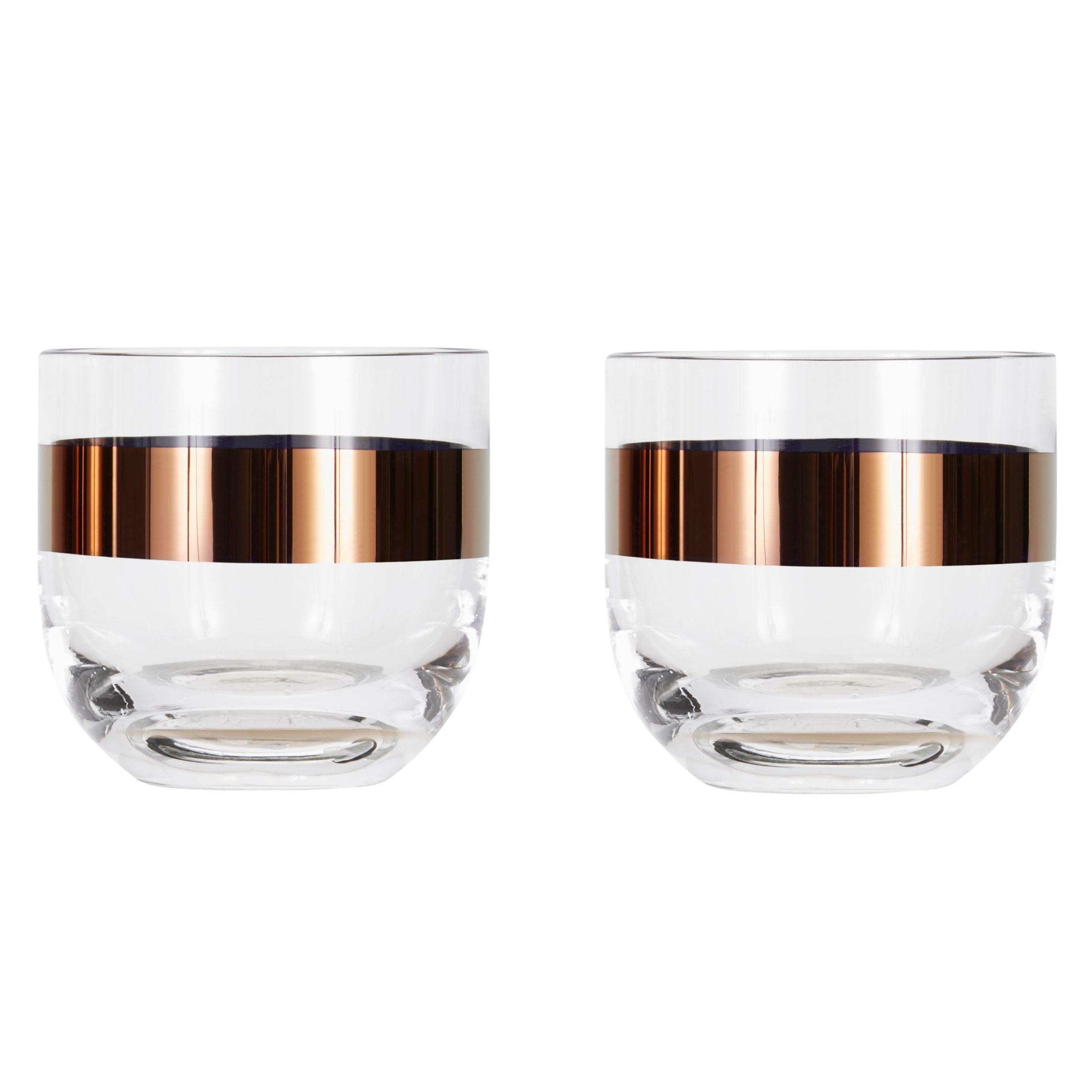 Tom Dixon Tom Dixon Tank Whiskey Glass, Set of 2