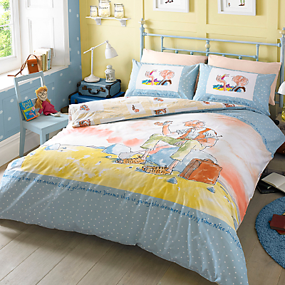 Roald Dahl Big Friendly Giant Duvet Cover and Pillowcase Set, Single
