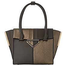 Buy Dune Deslay Shopper Bag, Grey Online at johnlewis.com