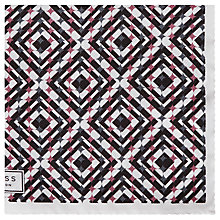 Buy Reiss Sazerac Printed Silk Pocket Square, White/Multi Online at johnlewis.com