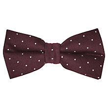 Buy Reiss Monty Polka Dot Bow Tie Online at johnlewis.com
