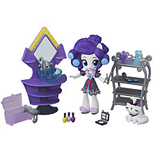 Buy My Little Pony Equestria Girls Minis Rarity Slumber Party Beauty Set Online at johnlewis.com