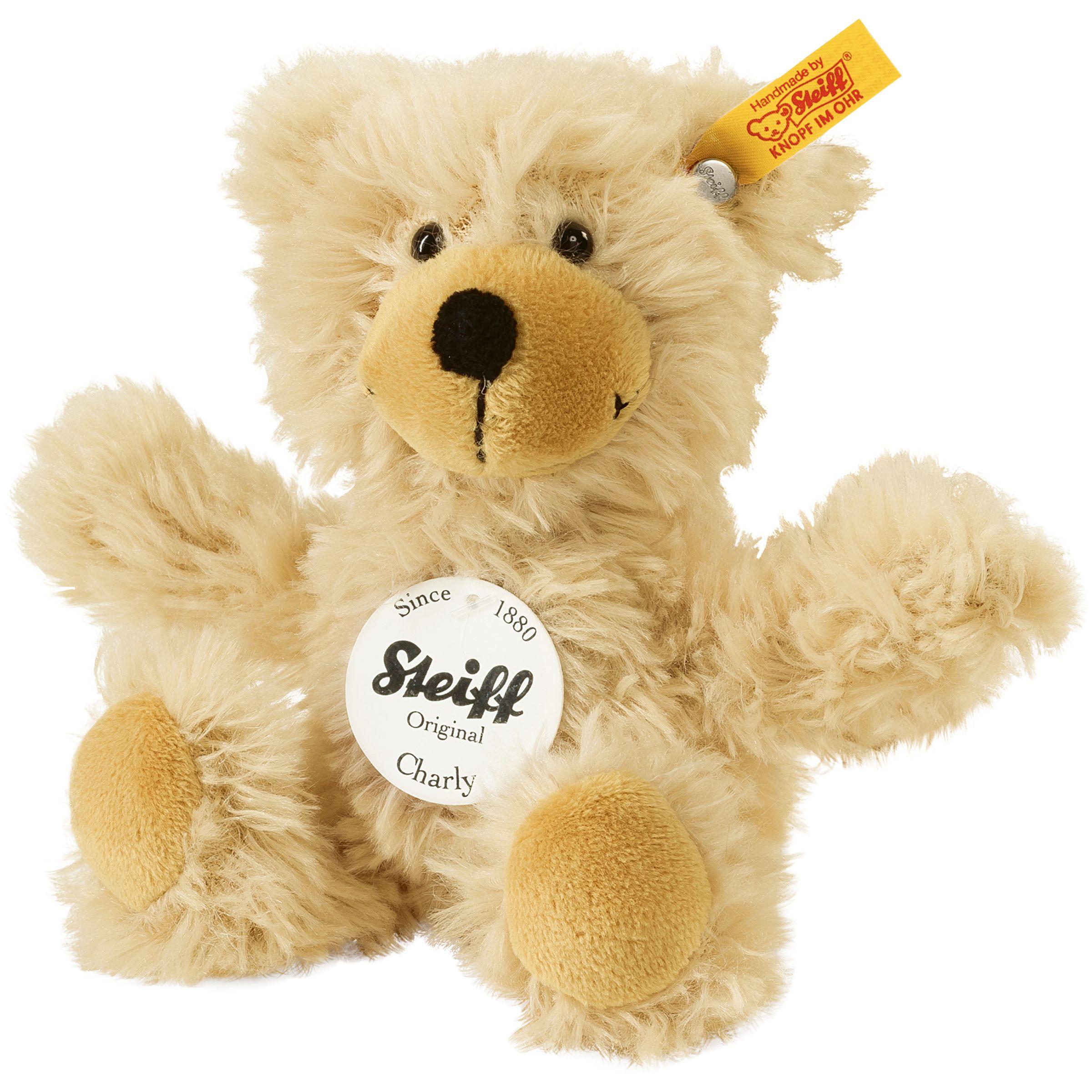 Steiff Steiff Charly Teddy Bear, Brown, 16cm