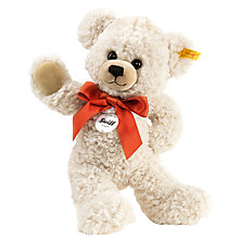 Buy Steiff Lilly Dangling Legs Teddy Bear, Cream, 28cm Online at johnlewis.com