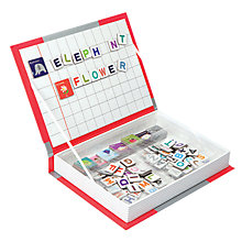 Buy Janod Alphabet Magnetibook Online at johnlewis.com