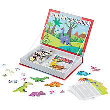 Buy Janod Dinosaur Magnetibook Online at johnlewis.com