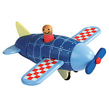Buy Janod Magnetic Airplane Online at johnlewis.com