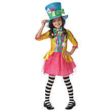 Buy Mad Hatter Children's Costume, 5-6 years Online at johnlewis.com