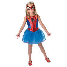 Buy Spider-Girl Dress Up Costume, 5-6 years Online at johnlewis.com