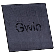 Buy Grasi Engraved Gwin Coaster Online at johnlewis.com