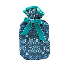 Buy Melin Tregwynt Knot garden Hot Water Bottle Online at johnlewis.com