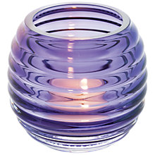 Buy Dartington Crystal 'Beehive' Tealight Holder Online at johnlewis.com