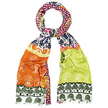Buy White Stuff Wilderness Print Scarf, Multi Online at johnlewis.com