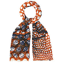 Buy White Stuff Woodland Walks Scarf, Rust Online at johnlewis.com