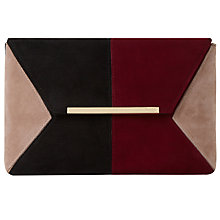 Buy Dune Batch Colour Block Clutch Bag Online at johnlewis.com