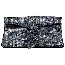 Buy L.K. Bennett Elen Clutch Bag, Metallic Online at johnlewis.com