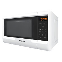 Buy Hotpoint MWH2031MW Freestanding Microwave, White Online at johnlewis.com