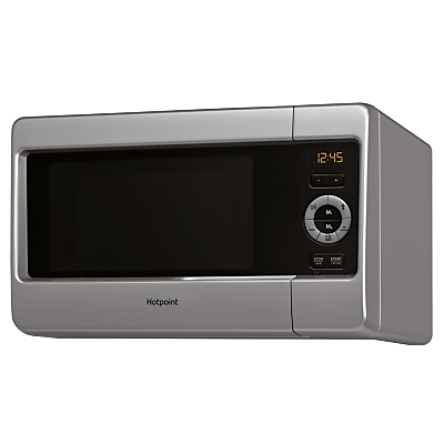 Hotpoint MWH2422MS Freestanding Microwave with Grill Silver